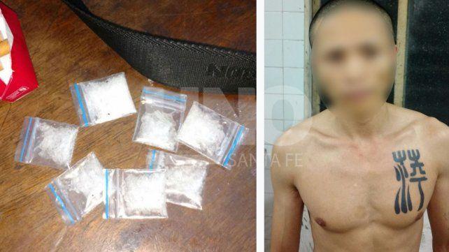 Una pareja de ciudadanos chinos, detenida con crack en la terminal de Rosario