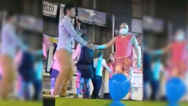 Marcelo Tinelli viralizó en redes el video de un santotomesino solidario