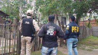 Arrestaron a miembros de una banda narcocriminal del norte santafesino