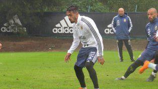 Jorge Sampaoli encaró un nuevo entrenamiento de la Selección