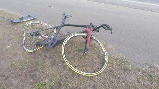 Atropellaron a un ciclista en la ruta 226