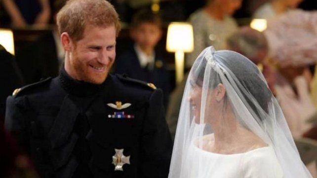 Se casaron el príncipe Harry y Meghan Markle