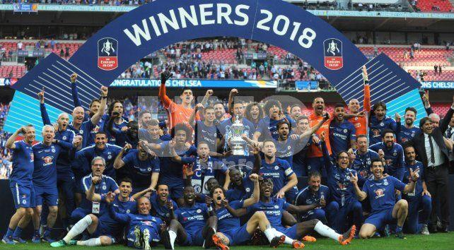 Chelsea superó a Manchester United y se quedó con la FA Cup