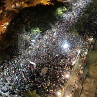 El pasado 25 de marzo, en el Día del Niño por Nacer, miles de santafesinos marcharon por la vida en la Costanera.