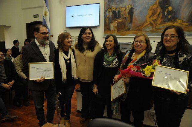 El Concejo reconoció a la artista Lucía Schmidhalter