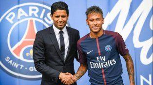 El presidente de PSG llevó tranquilidad por Neymar