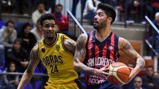 san lorenzo goleo a obras basket y empato la serie por los cuartos de final