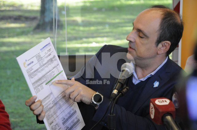 El intendente confirmó que se reunirá con autoridades de la EPE