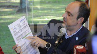 Corral anunció una reducción del 10 por ciento en la tarifa del gas