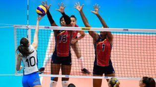 Otra caída de las Panteras en la Volleyball Nations League