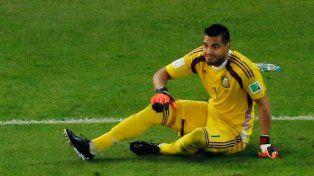 Romero se lesionó la rodilla y se pierde el Mundial de Rusia