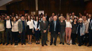 La Fundación Banco Santa Fe y el gobierno provincial firmaron convenios para programas educativos