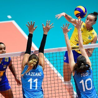 las panteras sufrieron una dura derrota ante brasil