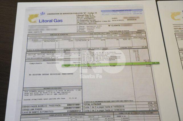 Concejo: la reducción en las boletas de gas se trataría la semana próxima