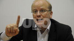 Santafesino. Luis Contigiani, diputado nacional por el Partido Socialista.