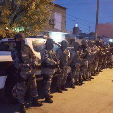 Hubo seis detenidos y droga secuestrada en 23 allanamientos