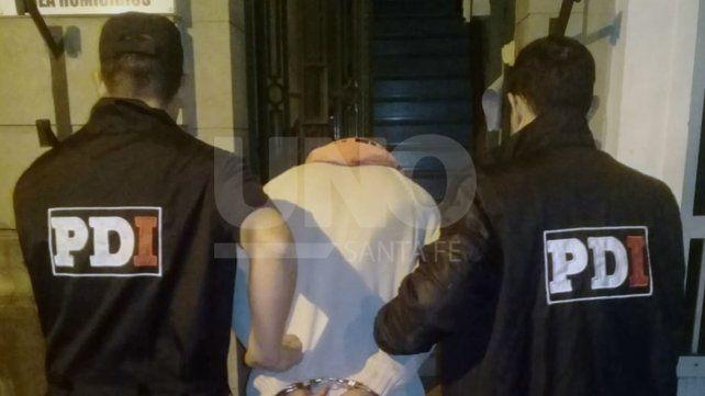 Escapó de Tribunales Juancito, detenido esta semana por el homicidio de Carla Rivas