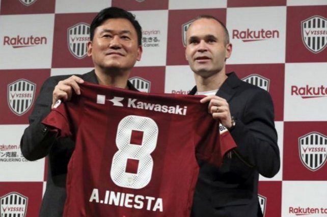¡Firmó Iniesta! Cuánto cobrará en Japón el excapitán del Barcelona