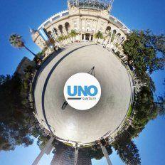 Video 360º: así luce la nueva plaza 25 de Mayo