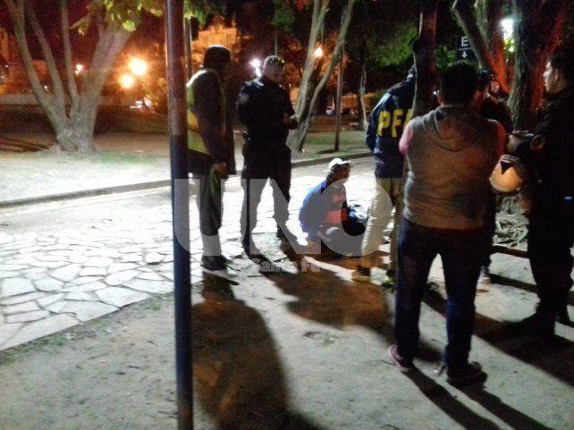 El detenido contaba con un pedido de captura vigente por homicidio