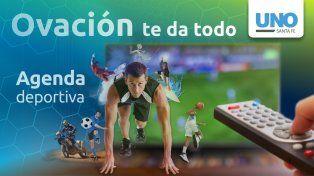 agenda: todo el deporte que se puede ver por tv en el viernes patrio