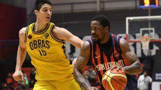 San Lorenzo buscará el pasaje a las semifinales ante Obras Basket