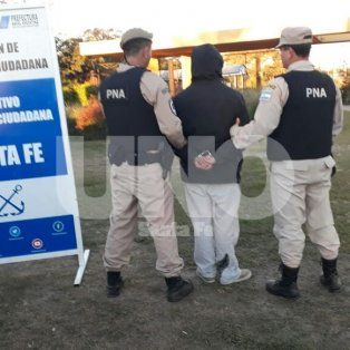 El muchacho fue detenido en la Costanera Este