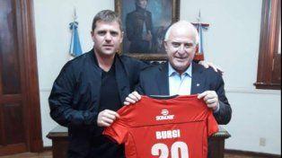 Libertad Burgi fue recibido por el gobernador