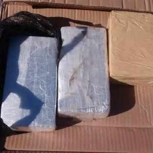 detuvieron a un narco pasajero con mas de tres kilos de cocaina