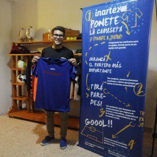 Por amor a la camiseta, una iniciativa para ayudar a los pequeños futbolistas