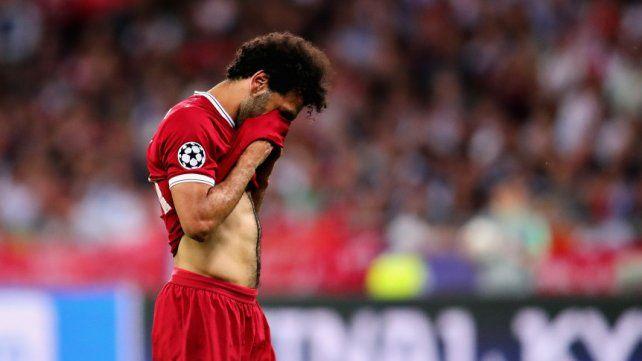 Mohamed Salah se retiró entre lágrimas: ¿se pierde el Mundial?