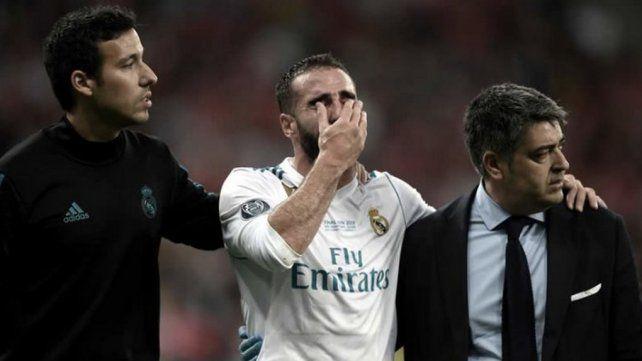 Carvajal también se fue llorando y todo España se agarra la cabeza