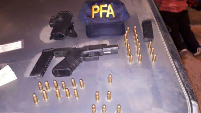 Caminaba armado por las calles de barrio Santa Rosa de Lima