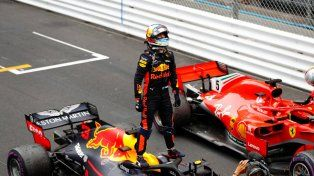 Daniel Ricciardo se dio el gusto en el GP de Mónaco