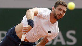 Gran victoria de Andreozzi para avanzar a la 2ª ronda de Roland Garros