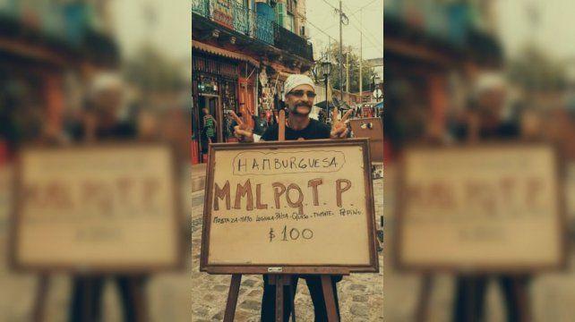 La hamburguesa anti Macri que se hizo viral en las redes
