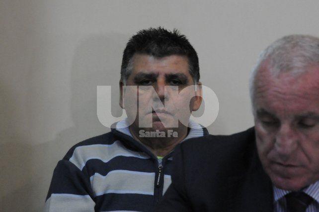En el banquillo. El Zurdo fue detenido en la mañana del 10 de diciembre de 2016 en su casa de la manzana 1 de Alto Verde.