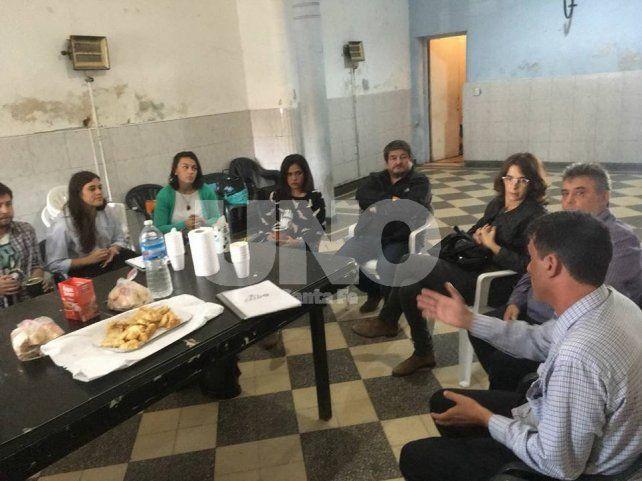 Visita sorpresa de María Eugenia Bielsa a la ciudad de Santa Fe