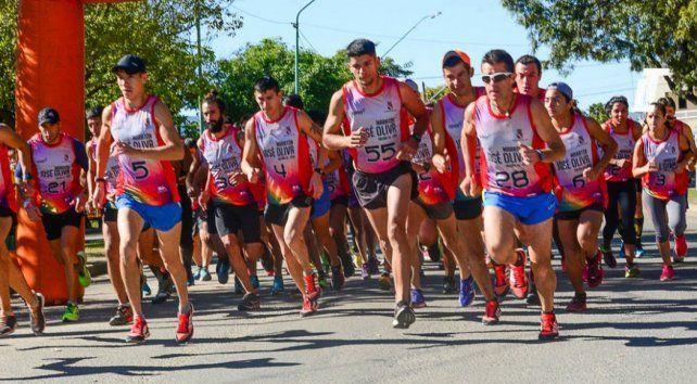 Se corrió la 34ª edición del Maratón José Oliva