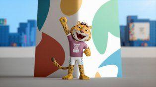 Pandi, la imagen de los Juegos Olímpicos de la Juventud