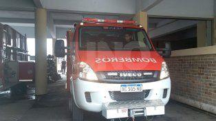 el cuartel de bomberos de santa fe cuenta con una nueva  unidad para rescate e incendios