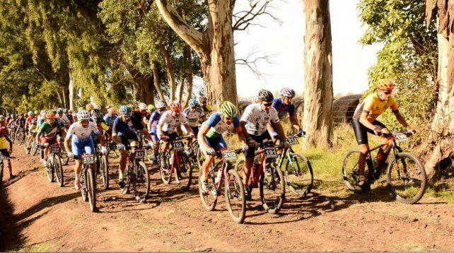 La fiesta del rural bike llegó a Cañada Rosquín