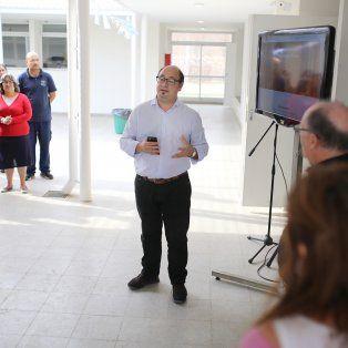 El secretario de Medio Ambiente y Espacios Públicos, Mariano Cejas, fue el encargado de brindar detalles sobre la iniciativa.