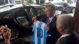 La Selección recibirá el saludo de Mauricio Macri antes de viajar a Barcelona