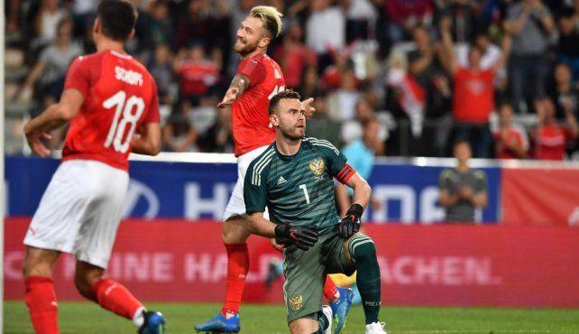 Preocupante derrota de Rusia a dos semanas de iniciarse el Mundial