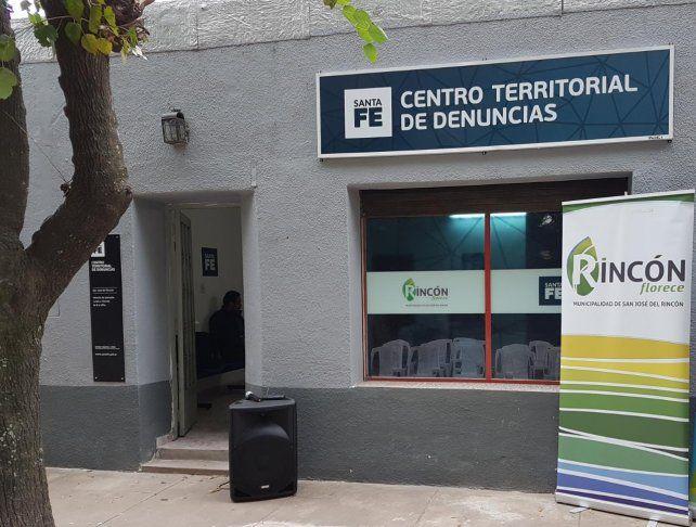 En San José del Rincón abrió sus puertas un Centro Territorial de Denuncias