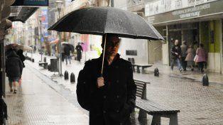 Jornada fría y lluviosa en la ciudad