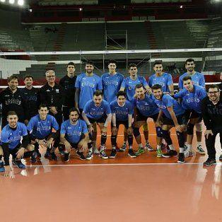 la seleccion argentina se instalo en san juan para la volleyball nations league