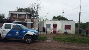 José Cibils al 6300. La vivienda donde fue salvajemente golpeado el menor de 6 años.