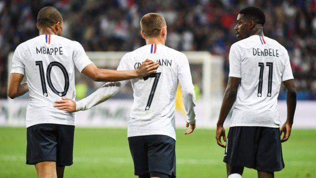 Francia festejó ante Italia en Niza